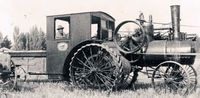 Early tractor, Berthoud Colorado